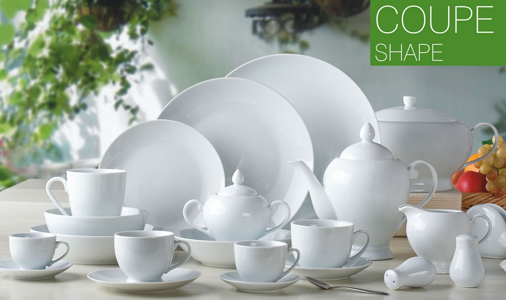 Coupe Shape & Coupe Shape|white porcelain|porcelain dinnerware: Zhongli Ceramics ...